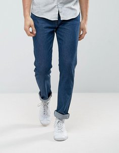 Read more about Levis line 8 slim skinny jeans fences dark wash - blue