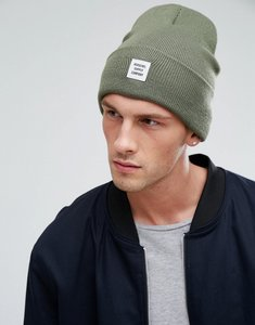 Read more about Herschel supply co abbott beanie in green - green