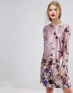 Read more about Y a s floral print shift dress - multi