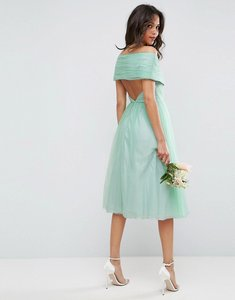 Read more about Asos wedding tulle midi dress - mint