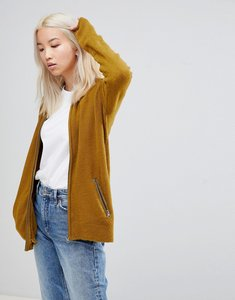 Read more about B young zip front cardigan - plantation