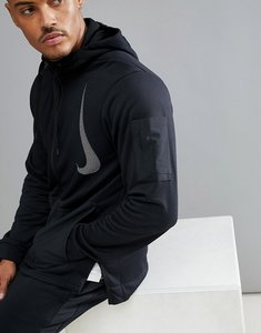 Read more about Nike training project x dry fleece hoodie in black aa4656-010 - black