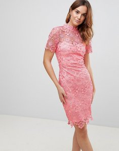 Read more about Paper dolls daisy crochet dress - coral