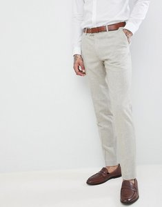 Read more about Harry brown wedding donegal skinny fit suit trousers - oatmeal