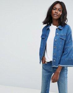 Read more about Vero moda denim jacket - medium blue denim