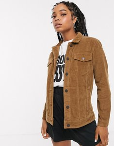 Read more about Noisy may oversized cord trucker jacket