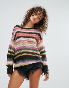 Read more about Billabong knitted beach jumper - multi
