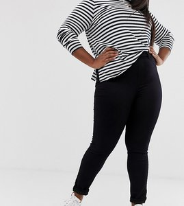 Read more about New look curve 5 pocket jegging - black