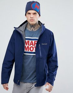 Read more about Marmot minimalist gore-tex hooded jacket in navy - arctic navy