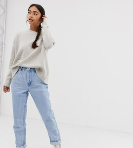 Read more about Bershka mom jean in light wash