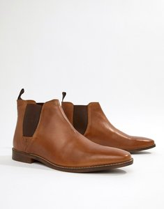 Read more about Red tape tapton chelsea boots in tan - tan