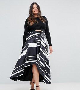 Read more about Coast plus striped maxi skirt - mono