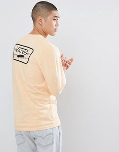 Read more about Vans full patch long sleeve t-shirt with back print in orange va2xcmpe9 - orange
