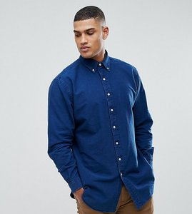 Read more about Polo ralph lauren tall oxford shirt in navy - indigo
