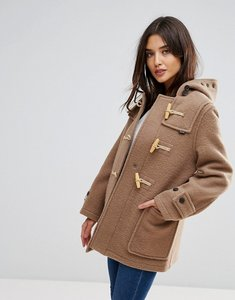 Read more about Gloverall mid mony wool blend duffle coat - old beige