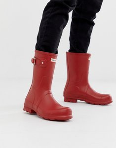 Read more about Hunter original short wellies in red - red