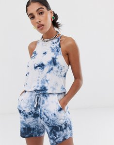 Read more about Noisy may tie dye playsuit