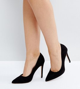 Read more about Asos paris pointed high heels - black