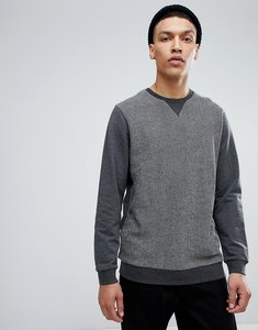 Read more about Common people colour block sweatshirt - grey