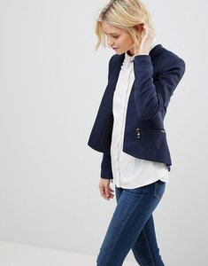 Read more about Vero moda collarless blazer - navy