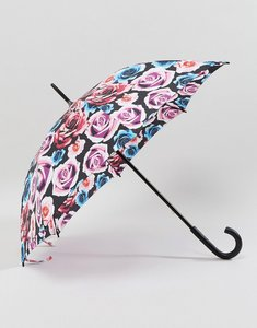 Read more about Fulton kensington 2 colour pop rose umbrella - multi