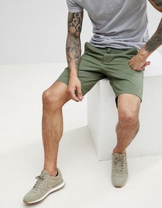 Read more about Farah hawk chino twill shorts in green - 302 military green