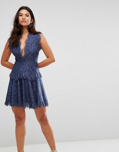 Read more about Talulah midnight dream mini dress - dust navy