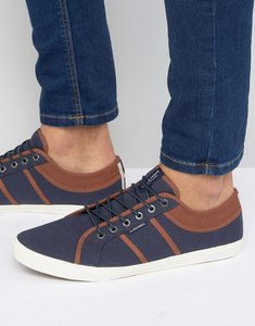 Read more about Jack jones ross plimsolls - navy