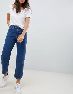 Read more about Tommy jeans classics high rise mom jeans - mid blue