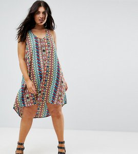 Read more about Ax paris printed strappy back dress - multi