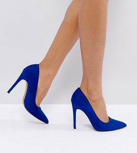 Read more about Asos paris pointed high heels - cobalt