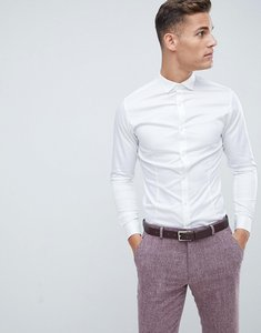 Read more about Jack jones premium stretch shirt in slim fit - white