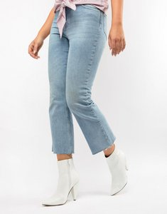 Read more about Asos design erica pointed ankle boots - white
