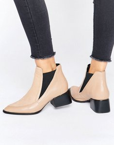 Read more about Sol sana rico pony leather heeled ankle boots - nude pony leather