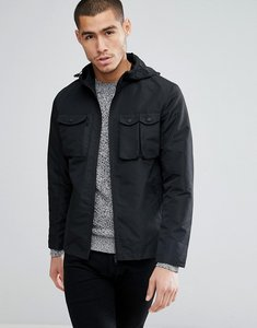 Read more about Brave soul lightweight hooded jacket - black