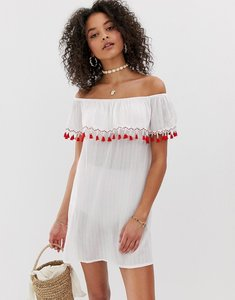 Read more about Pia rossini off shoulder beach dress