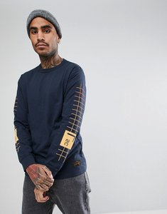 Read more about Levis skateboarding long sleeve t-shirt with graphic sleeve print - navy