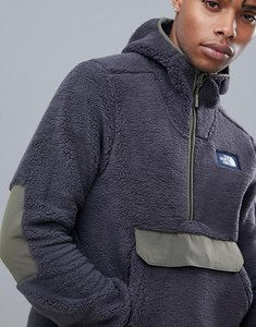 Read more about The north face campshire pullover hoodie in black