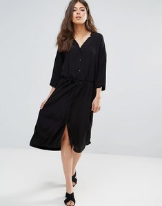 Read more about Only studio ace long kimono blouse - black solid