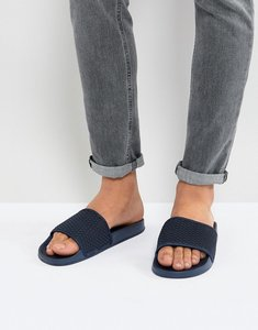 Read more about 7x quilted sliders in navy - blue