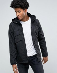 Read more about Bellfield hooded tech jacket - black