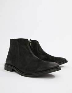 Read more about Kg by kurt geiger zip ankle boots - black