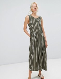 Read more about Selected striped dress - green white stripe