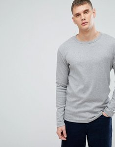 Read more about Lindbergh t-shirt with long sleeves in grey - grey