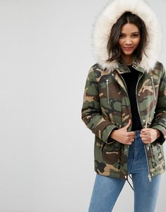 Read more about Asos ultimate camo parka - multi