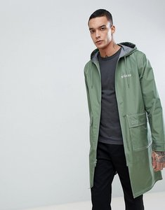Read more about Stussy parka with contrast stitch - green