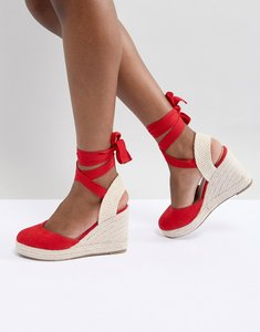 Read more about Pimkie espadrille wedges - red