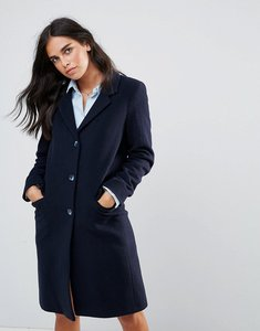 Read more about Helene berman wool blend college coat - navy