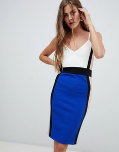 Read more about New look strappy midi dress - blue pattern