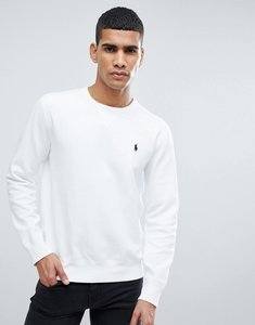 Read more about Polo ralph lauren player logo crew neck sweatshirt in white - white